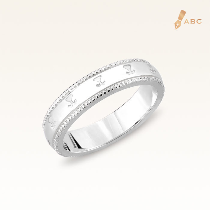 Silver Beawelry Band Ring