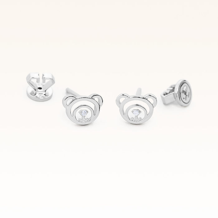 Silver CZ Beawelry Earrings